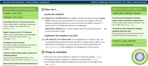 NC Modules
